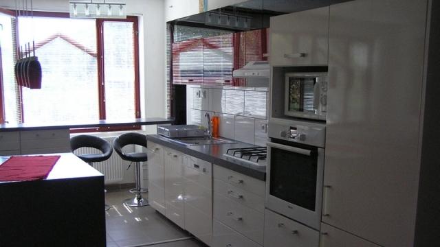 Földszinti apartman -konyha