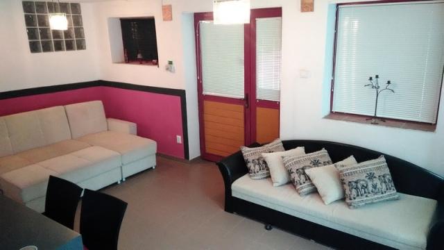 Földszinti apartman - kanapé/ágy